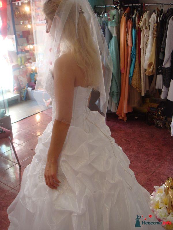 Вид сзади на мое платье. - фото 127139 jane0707