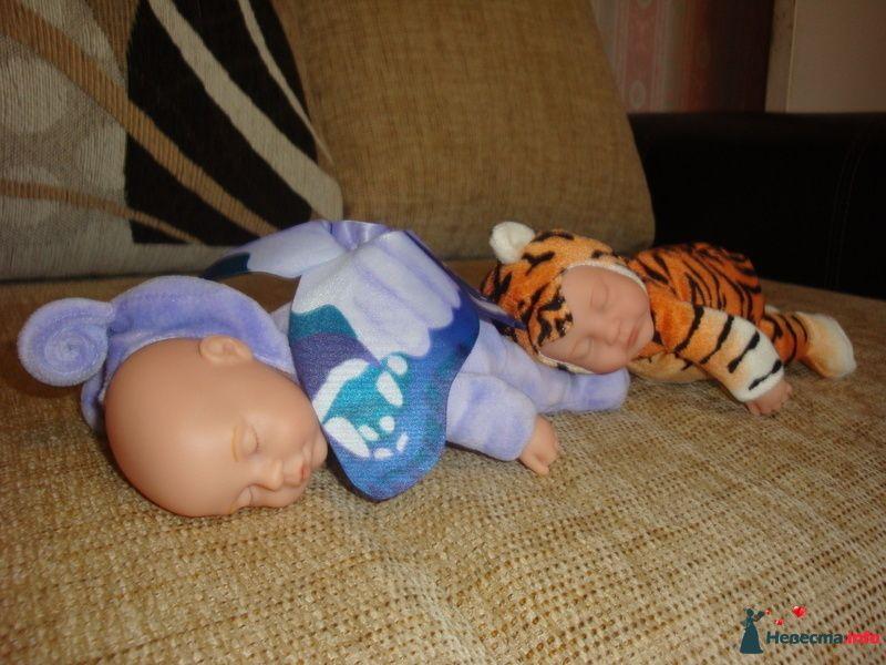 у спящих малышей капюшончики снимаются - фото 103512 Невеста01