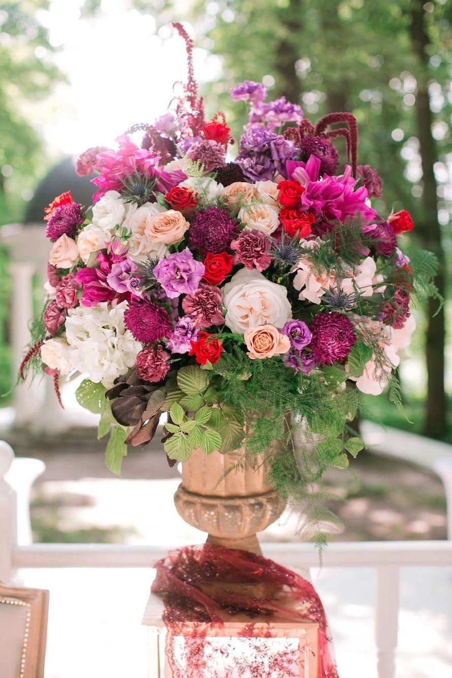 """Фото 15750788 в коллекции Свадьба Лали и Саши - """"Люблю, целую.."""" - студия флористики и декора"""
