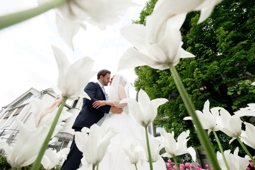 """Фото 15750810 в коллекции Свадьба Вики и Сережи - """"Люблю, целую.."""" - студия флористики и декора"""