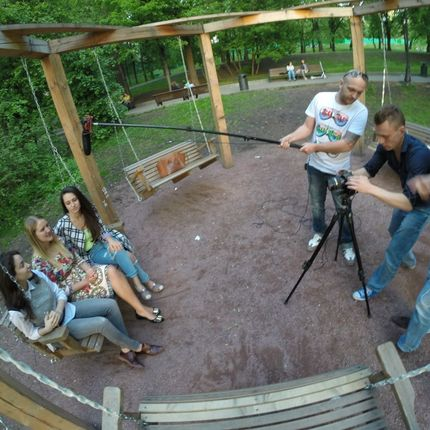 "Видеосъёмка полного дня - пакет ""Две камеры + квадрокоптер"""