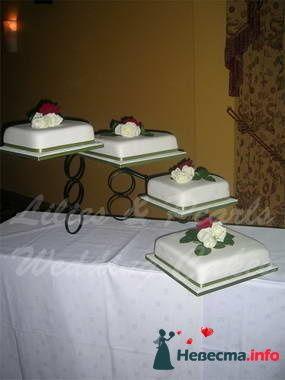 Фото 84823 в коллекции Торты - Свадебный распорядитель. Яна