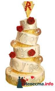 Фото 96840 в коллекции Торты - Свадебный распорядитель. Яна