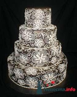 Фото 96841 в коллекции Торты - Свадебный распорядитель. Яна