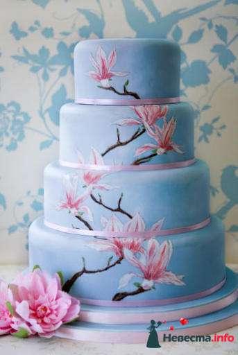 Фото 99495 в коллекции Торты - Свадебный распорядитель. Яна