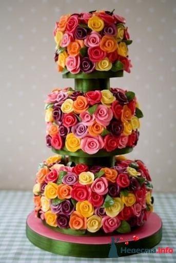 Фото 99512 в коллекции Торты - Свадебный распорядитель. Яна