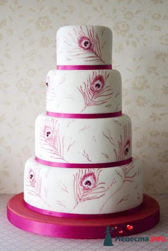 Фото 99548 в коллекции Торты - Свадебный распорядитель. Яна