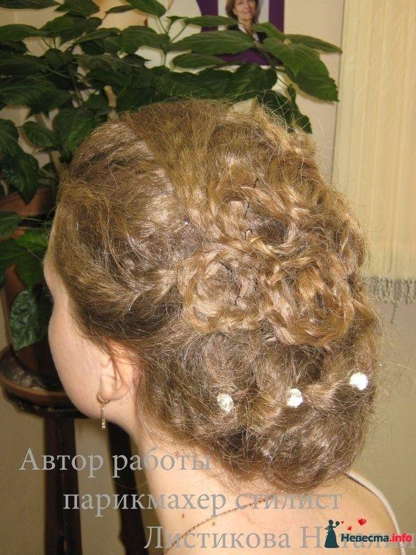 Фото 276521 в коллекции Свадебные прически - Свадебный стилист Листикова Наталия
