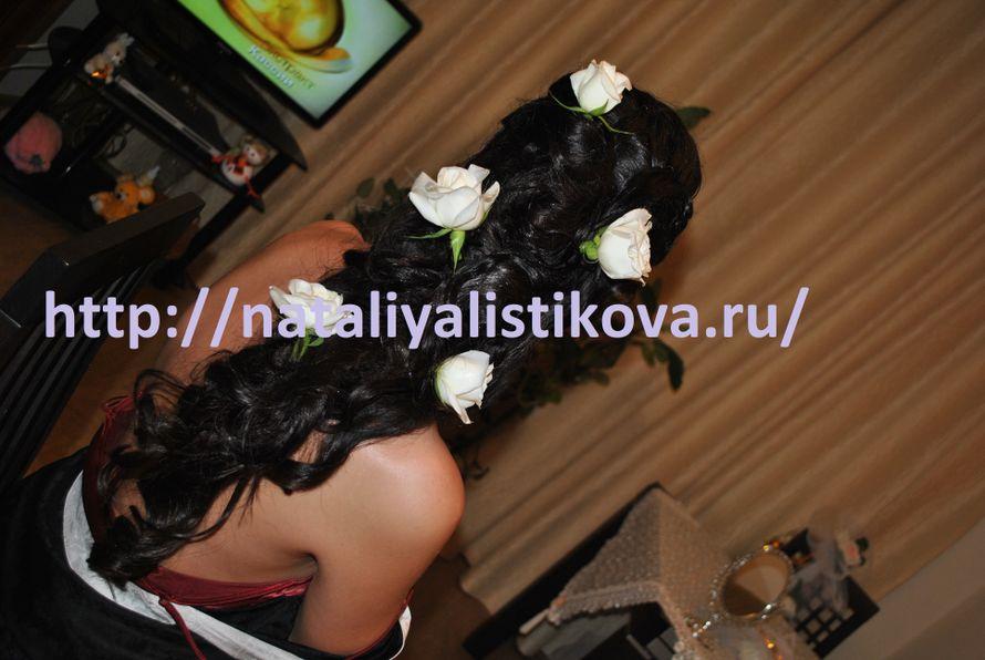 Фото 506337 в коллекции Свадебные прически - Свадебный стилист Листикова Наталия