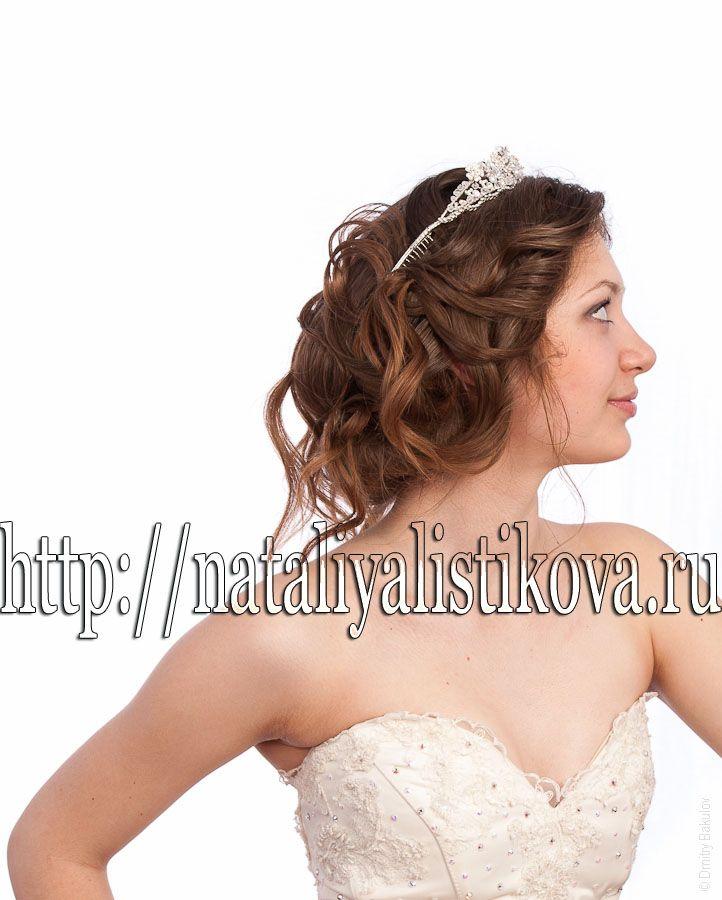 Фото 1337151 в коллекции Свадебные прически - Свадебный стилист Листикова Наталия