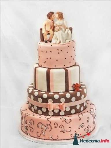 Фото 83094 в коллекции свадебные торты - Ленусечка