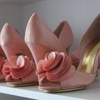 нежно розовые свадебные туфли от Viva Bride аналог туфель Badgley Mischka randall в наличии в москве, цветная свадебная обувь