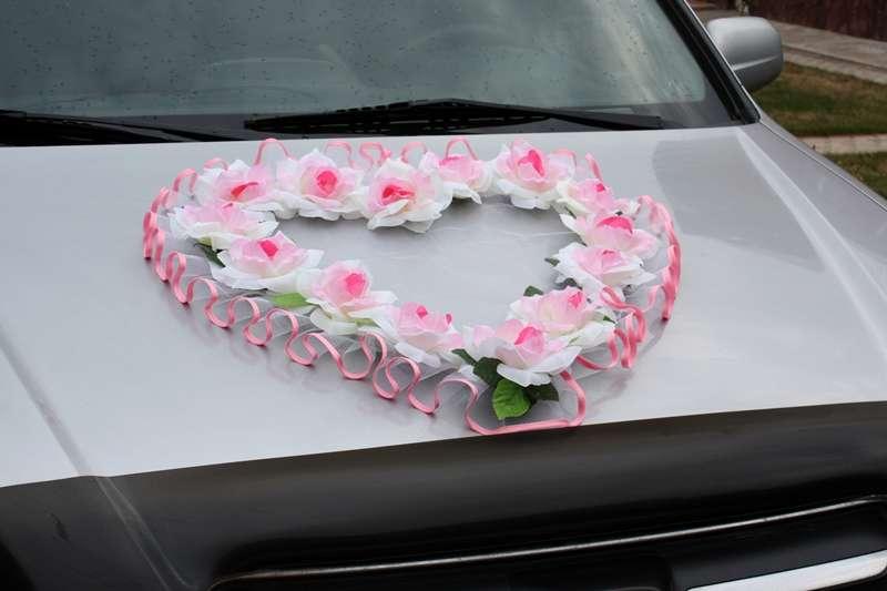 Украшения из цветов на свадебную машину своими руками мастер класс 65