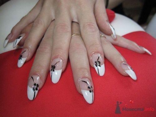 Стилеты фрнеч - фото 6223 PerfectioNails - наращивание ногтей гелем и акрилом
