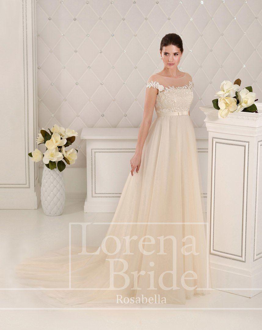 """Свадебное платье ROSABELLA - фото 16782232 Свадебный салон """"Vesta - Bride"""""""
