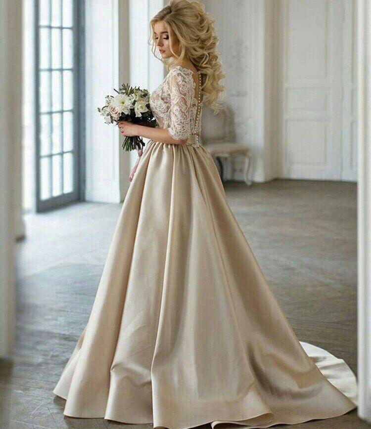 """Свадебное платье АДЕЛИНА  Цвет: cappucchino/ivory - фото 16782584 Свадебный салон """"Vesta - Bride"""""""
