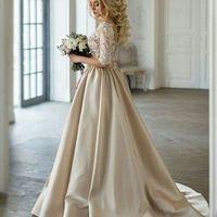 Свадебное платье АДЕЛИНА  Цвет: cappucchino/ivory