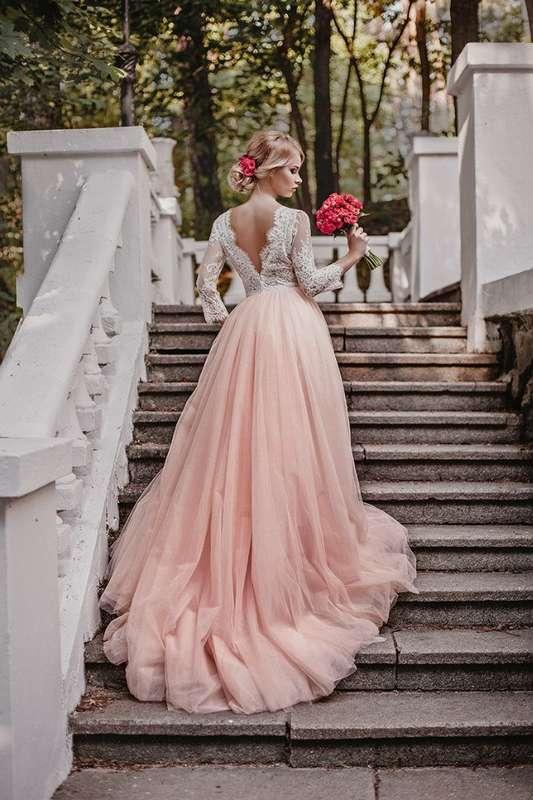 """Свадебное платье  РОЗЕЛЬ   Цвет: пудра - фото 16782598 Свадебный салон """"Vesta - Bride"""""""