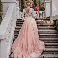 Свадебное платье  РОЗЕЛЬ   Цвет: пудра