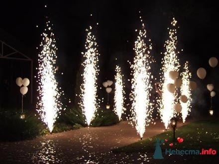 Пиротехнические фонтаны - фото 88359 Тульский Фейерверк