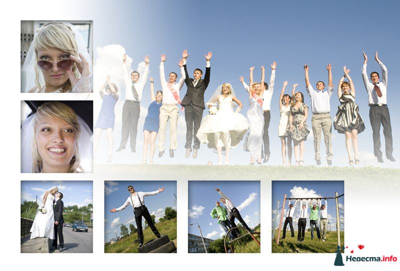 Коллаж - фото 88747 Свадебный фотограф Петр Скаженюк