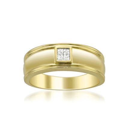 Мужское золотое обручальное кольцо на заказ