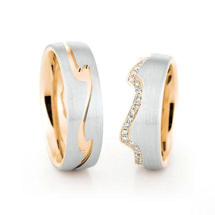Матовые обручальные кольца на заказ