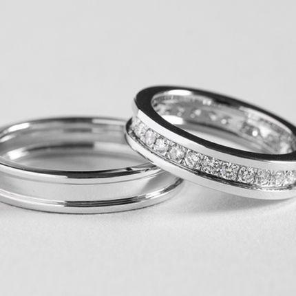 Обручальные кольца с бриллиантами (Арт 3361)