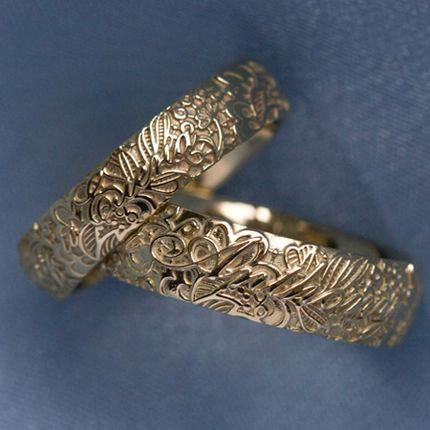 Обручальные кольца с именами  (Арт 1506)