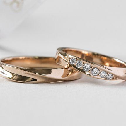 Обручальные кольца с бриллиантами (Арт 3370)