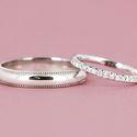 Обручальные кольца c бриллиантами (Арт 1548)