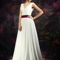 """Свадебное платье """"Ямайка"""". А-силуэт, материал - шифон. Цвет айвори, белый под заказ. В наличии Цена 7400 грн"""