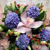 Букет для весенней невесты - фото 9078 Марусин палисад - флористика