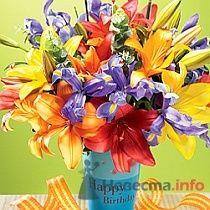 Букет на день рождения - фото 9079 Марусин палисад - флористика