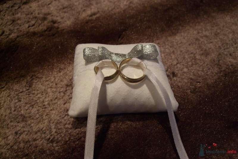 Подушка для колец - фото 64859 Поля