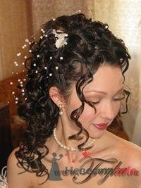 Свадебная причёска, макияж - фото 17603 Стилист-визажист-парикмахер Алена Фильчекова