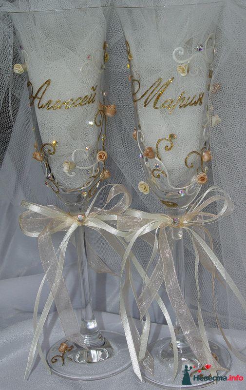 """Фото 111540 в коллекции Мои фотографии - """"Aнютa"""" - свадебные бокалы и аксессуары"""