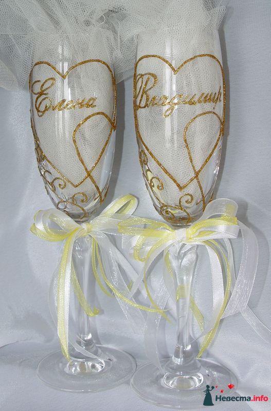 """Фото 119371 в коллекции Мои фотографии - """"Aнютa"""" - свадебные бокалы и аксессуары"""