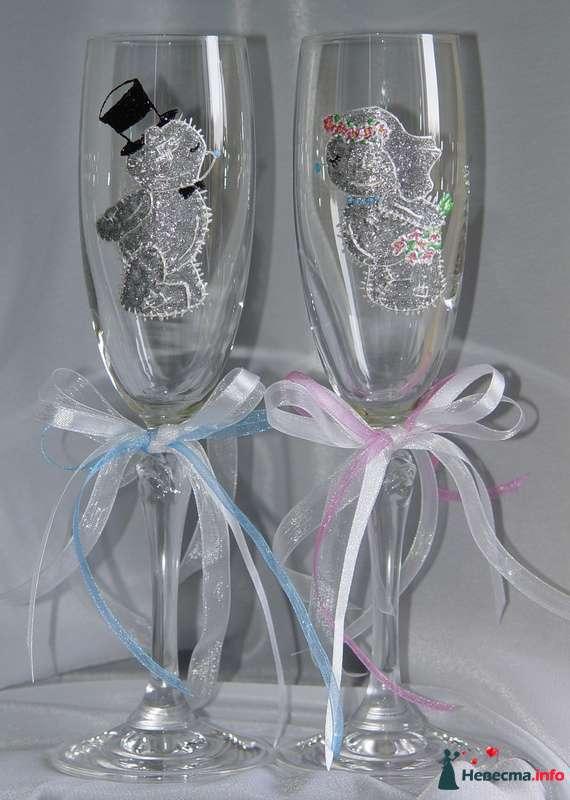 """Фото 122105 в коллекции Мои фотографии - """"Aнютa"""" - свадебные бокалы и аксессуары"""