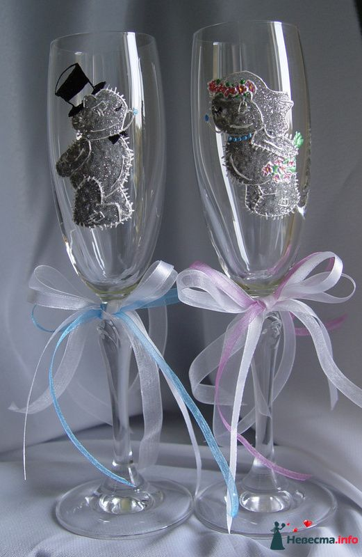 """Фото 122107 в коллекции Мои фотографии - """"Aнютa"""" - свадебные бокалы и аксессуары"""