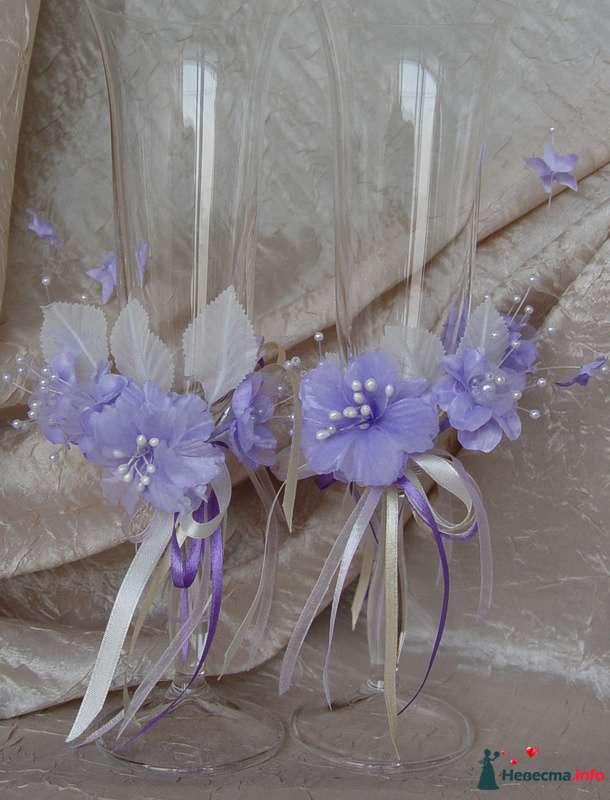 """Фото 124779 в коллекции Мои фотографии - """"Aнютa"""" - свадебные бокалы и аксессуары"""