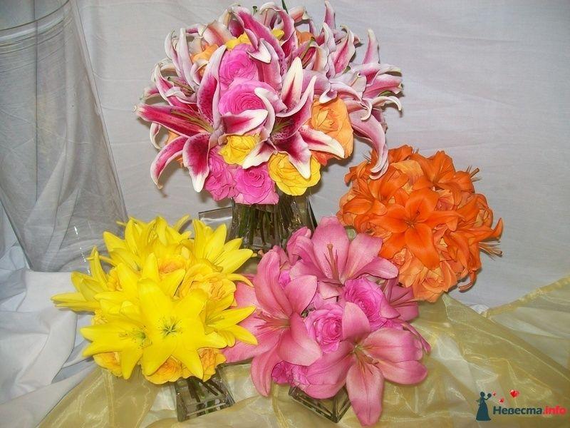 Фото 110689 в коллекции Любимые лилии - свадебные букетики - kosca