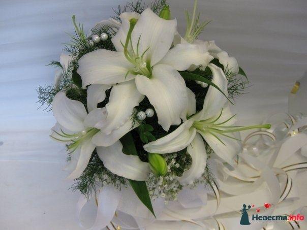 Фото 110699 в коллекции Любимые лилии - свадебные букетики