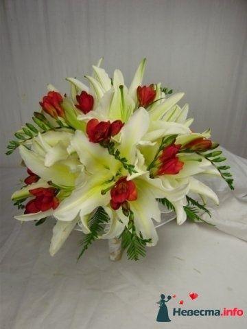 Фото 110706 в коллекции Любимые лилии - свадебные букетики