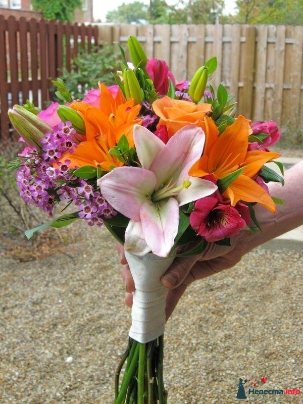 Фото 111501 в коллекции Любимые лилии - свадебные букетики - kosca