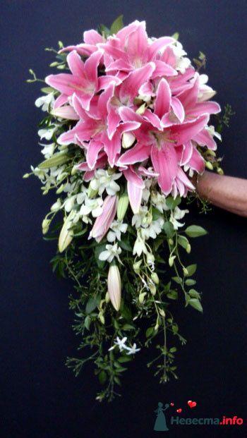 Фото 118651 в коллекции Любимые лилии - свадебные букетики