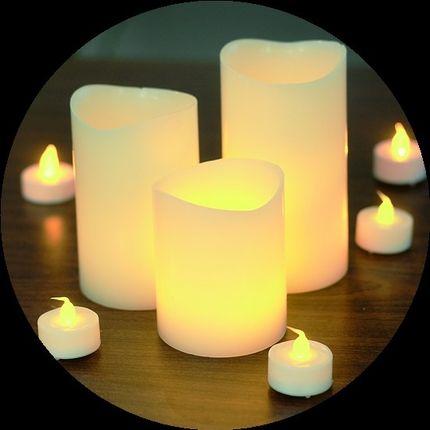 Свечи светодиодные аренда