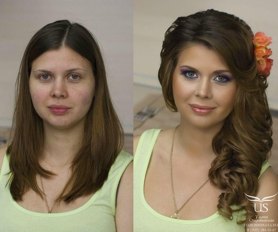 Причёски на бок на средние волосы локоны фото