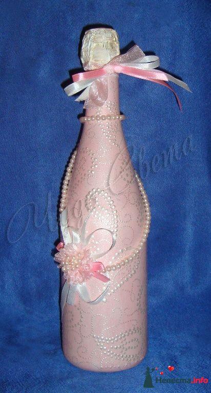 """Свадебное шампанское - фото 95447 Студия """"ЧудоСвета"""" - cвадебные аксессуары"""