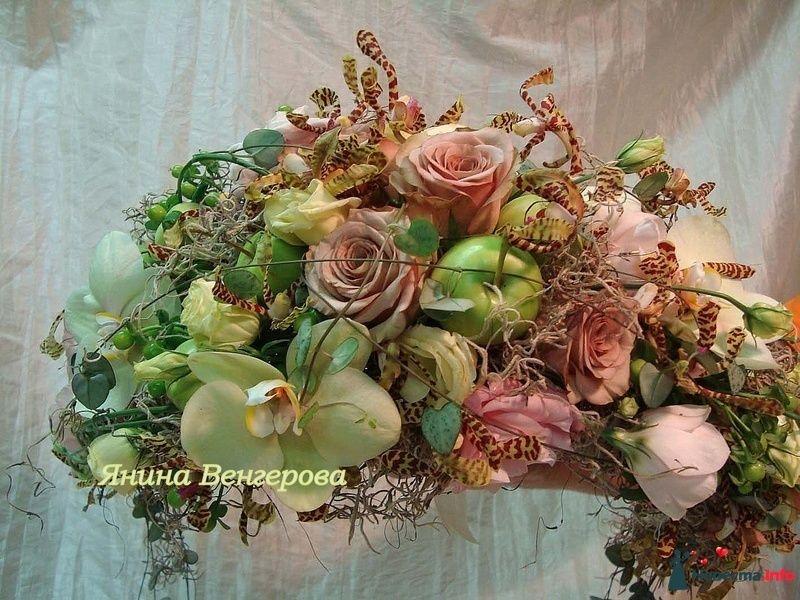 Фото 97247 в коллекции БУКЕТ НЕВЕСТЫ - Флорист-декоратор Янина Венгерова